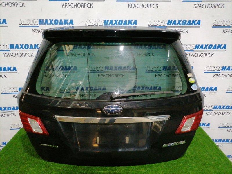 Дверь задняя Subaru Exiga YA5 EJ20 2008 задняя В сборе, с вставками D061, спойлером, камерой з/х. В