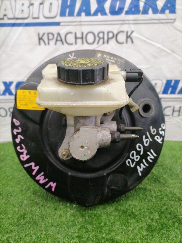 Главный тормозной цилиндр Mini Cooper R50 В сборе, с вакуумом, бачком, датчиком