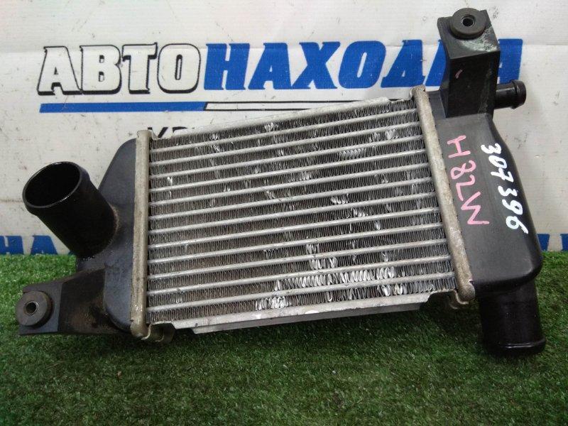 Радиатор интеркулера Mitsubishi Ek Wagon H82W 3G83 2006