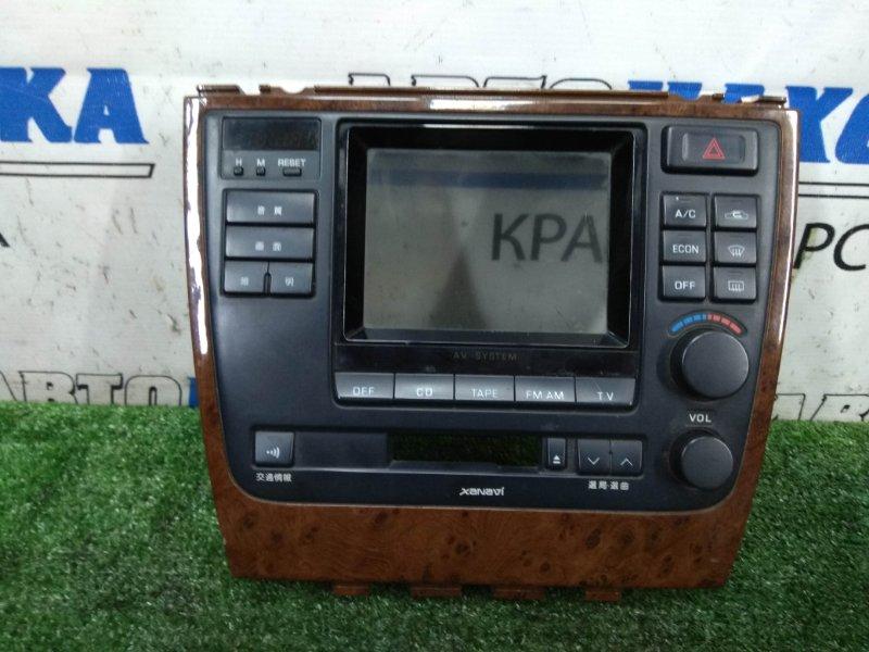 Климат-контроль Nissan Leopard JHY33 VQ30DE 1996 С часами и кнопкой аварийки