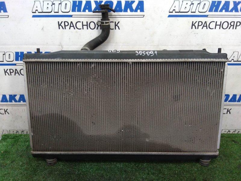 Радиатор двигателя Honda Freed Spike GB3 L15A 2010 A/T. В сборе с диффузорами, вентиляторами,