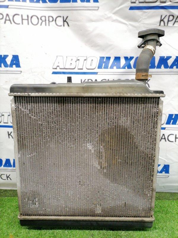 Радиатор двигателя Honda Zest JE1 P07A В сборе, с диффузором, вентилятором, трубками