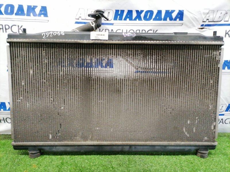 Радиатор двигателя Honda Freed GB3 L15A С трубками охлаждения кпп, датчиком ванночки, без