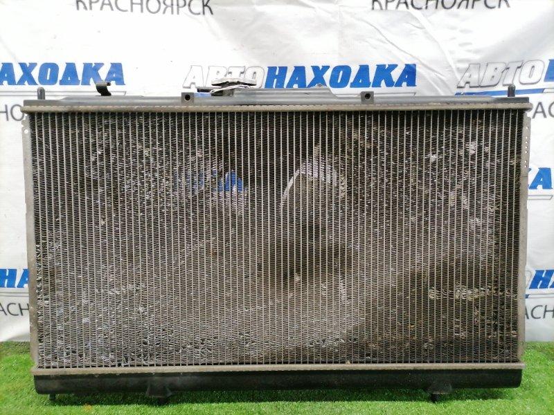 Радиатор двигателя Mitsubishi Legnum EC3W 4G64 В сборе, с диффузорами, вентиляторами, трубками