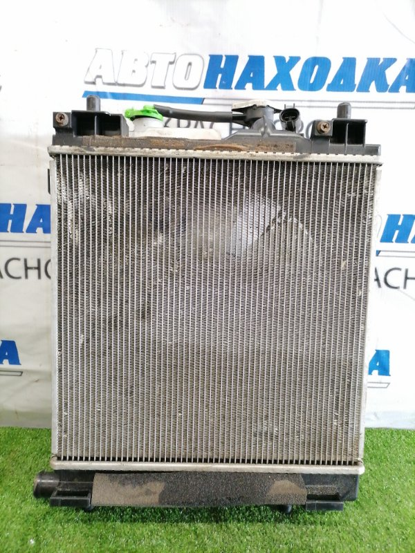 Радиатор двигателя Mazda Carol HB35S R06A 2014 В сборе, с диффузором, вентилятором