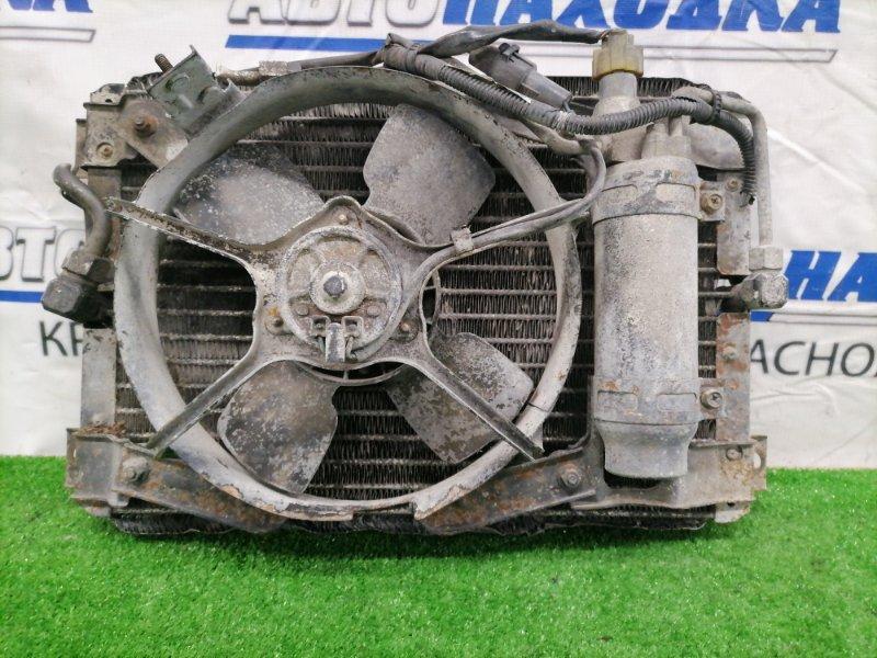 Радиатор кондиционера Mazda Titan WGEAT TF с вентилятором