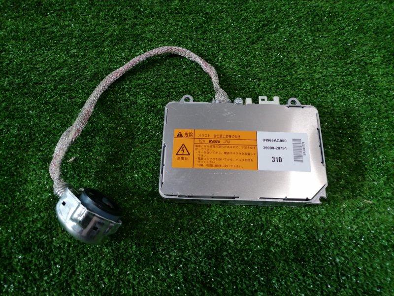 Блок розжига ксенона Subaru Legacy BP5 EJ20 2003 84965AG000 D2S