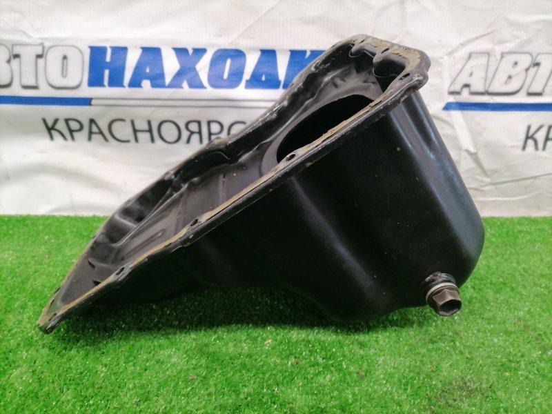 Поддон Suzuki Wagon R MC21S K6A Железный, ДВС