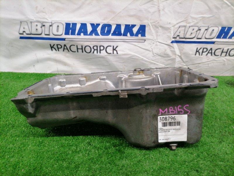 Поддон Mitsubishi Delica D:2 MB15S K12B Алюминиевый, ДВС
