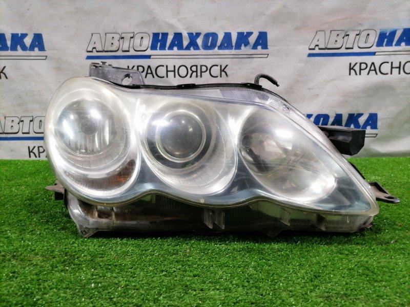 Фара Toyota Mark X GRX120 3GR-FSE 2004 передняя правая 22-330 Правая, дорестайлинг (1 мод.), под ксенон без