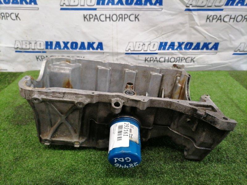 Поддон Honda Fit GD1 L13A Алюминиевый, ДВС