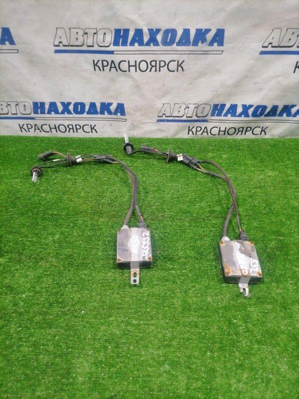 Блок розжига ксенона Toyota Estima ACR50W 2AZ-FE 2006 нештатный комплект : 2 блока + 2 лампы, под