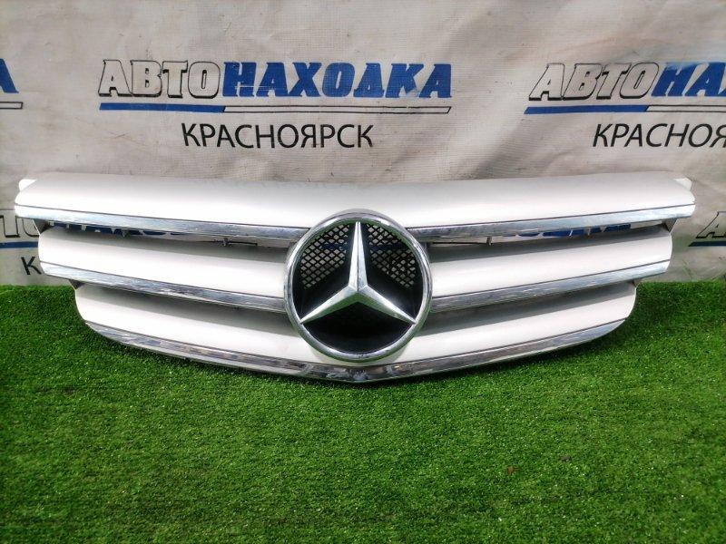 Решетка радиатора Mercedes-Benz B-Class 245.232 M266 E17 2005 A1698800883 есть мелкие сколы, надрыв