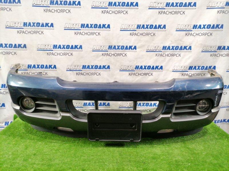 Бампер Ford Explorer U152 COLOGNE V6 2001 передний 5L24-17G831DAW передний, с туманками, накладками,