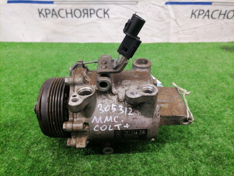 Компрессор кондиционера Mitsubishi Colt Plus Z24W 4A91 2004 7813A138