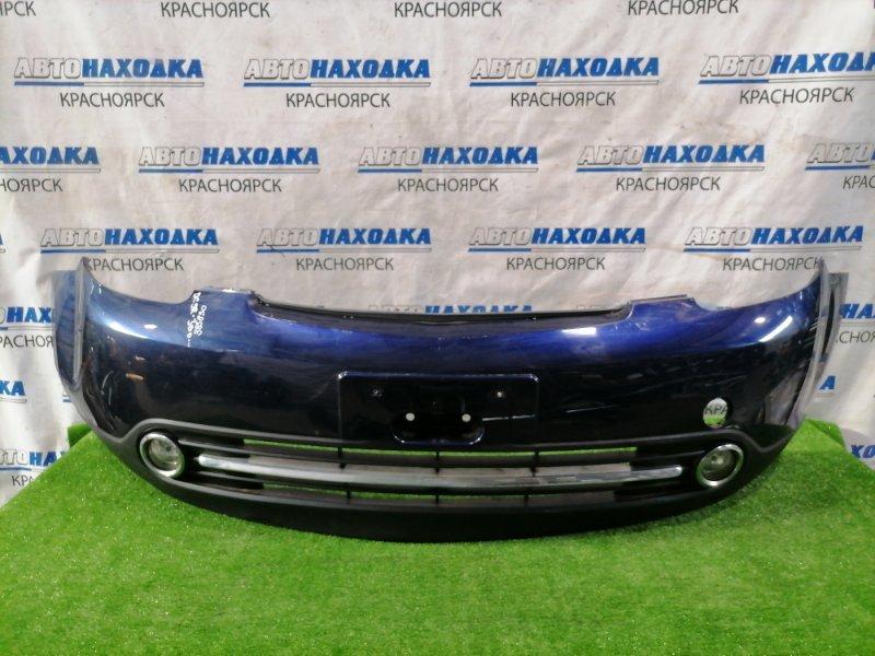 Бампер Mazda Verisa DC5W ZY-VE 2004 передний Передний, рестайлинг (2 мод.), с туманками,