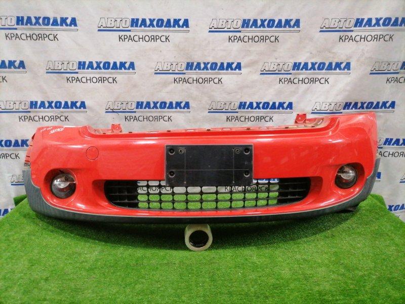 Бампер Mini Countryman R60 N14B16 2010 передний передний, с туманками. Есть незначительная