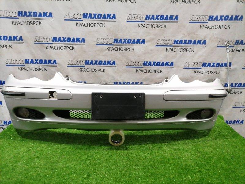 Бампер Mercedes-Benz C180 W203 M271E18 2000 передний передний, дорестайлинг (1 мод), с туманками,