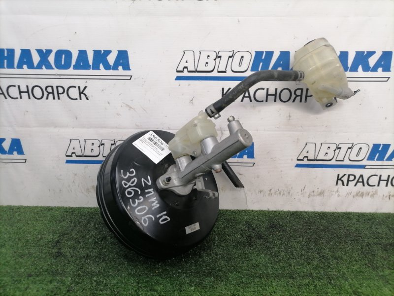Главный тормозной цилиндр Toyota Isis ZNM10W 1ZZ-FE 2007 с вакуумом и выносным бачком, пробег 54
