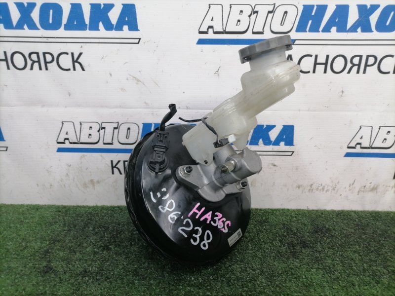 Главный тормозной цилиндр Suzuki Alto HA36S R06A 2014 пробег 11 т. км., с вакуумом и бачком, с