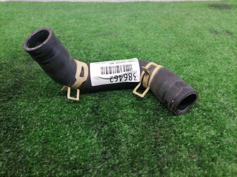 Патрубок тосольный Daihatsu Mira L275V KF-VE 2006 верхний радиатора ДВС, верхний