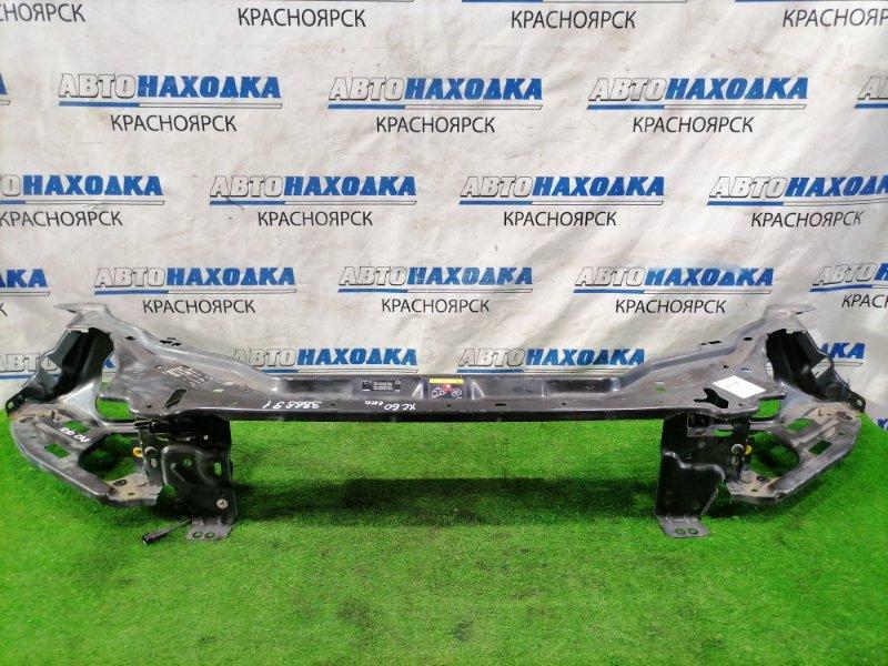 Рамка радиатора Volvo Xc60 DZ44 B4204T6 2008 передняя верхняя 30762259 С правым замком капота, с