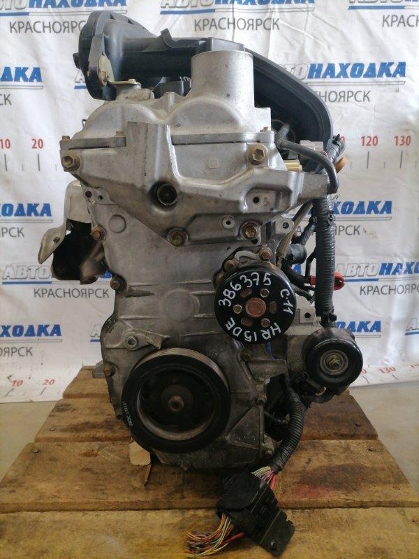 Двигатель Nissan Tiida C11 HR15DE 2004 370068 № 370068, пробег 82 т.км. Есть видео работы ДВС. Без