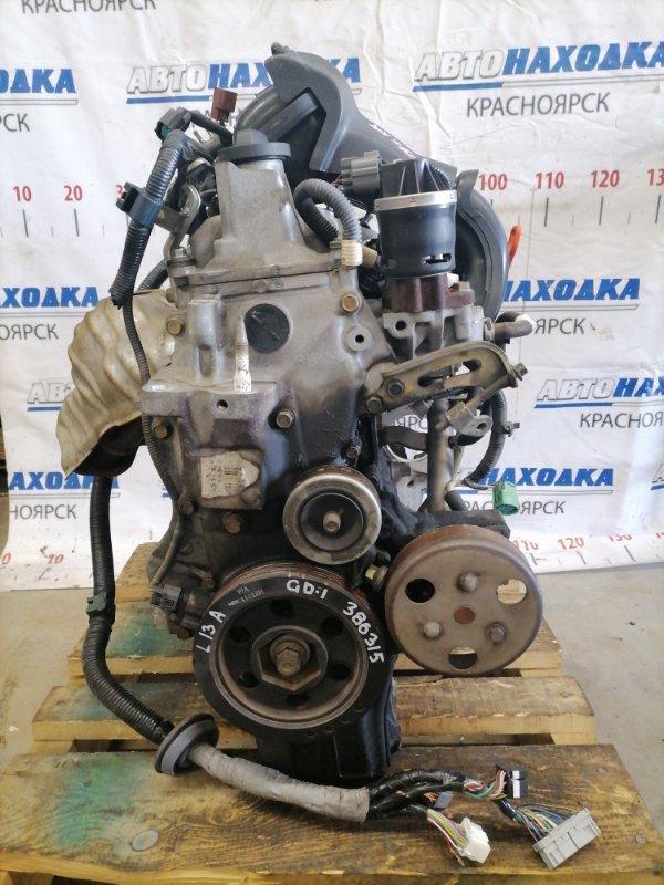 Двигатель Honda Fit GD1 L13A 2001 2055262 № 2055262, пробег 79 т.км. Есть видео работы ДВС. Без