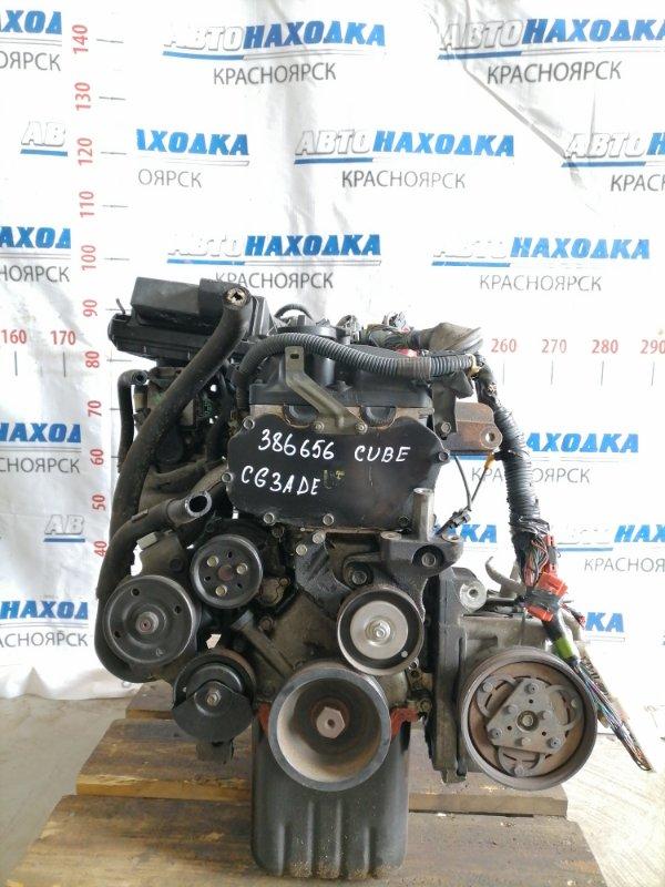 Двигатель Nissan Cube AZ10 CGA3DE 1998 040255 № 040255, пробег 85 т.км. Есть видео работы ДВС. Без
