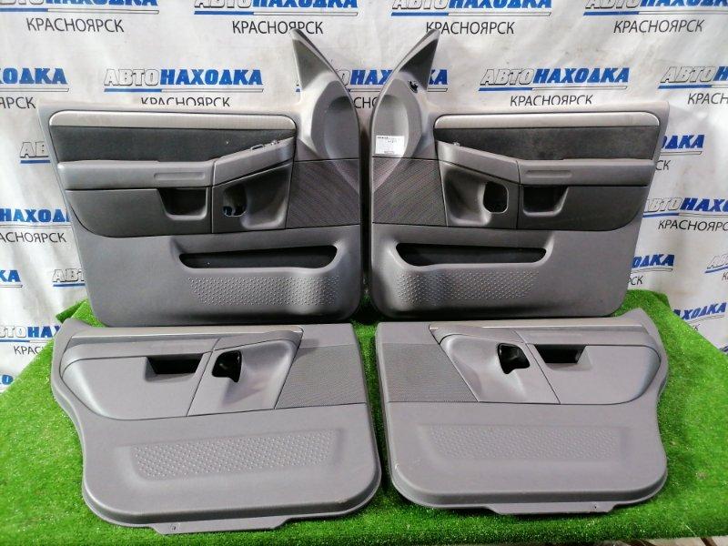 Обшивка двери Ford Explorer U152 COLOGNE V6 2001 Комплект 4 шт. Есть потертости, выгорание в