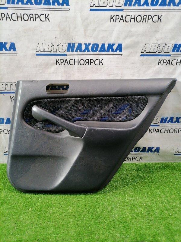 Обшивка двери Honda Orthia EL2 B20B 1996 задняя правая Задняя правая, темно-серый. Есть