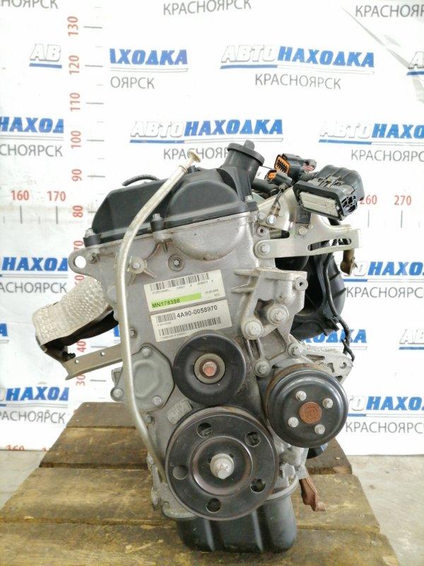 Двигатель Mitsubishi Colt Z21A 4A90 2004 0058970 № 0058970, пробег всего 26 т.км. (!) Есть видео работы ДВС.