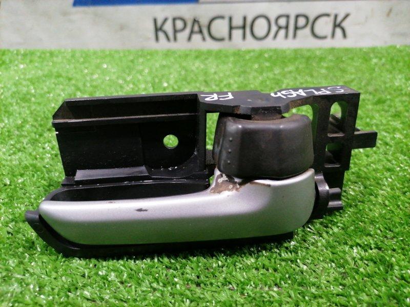 Ручка внутренняя Suzuki Splash XB32S K12B 2008 передняя правая передняя правая
