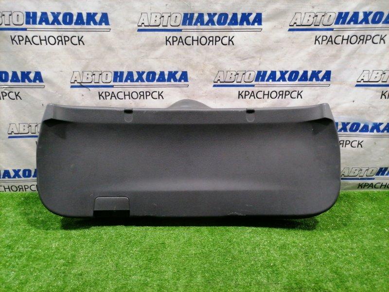 Обшивка багажника Suzuki Splash XB32S K12B 2008 задняя 83771-51K0 Внутренняя обшивка пятой двери,