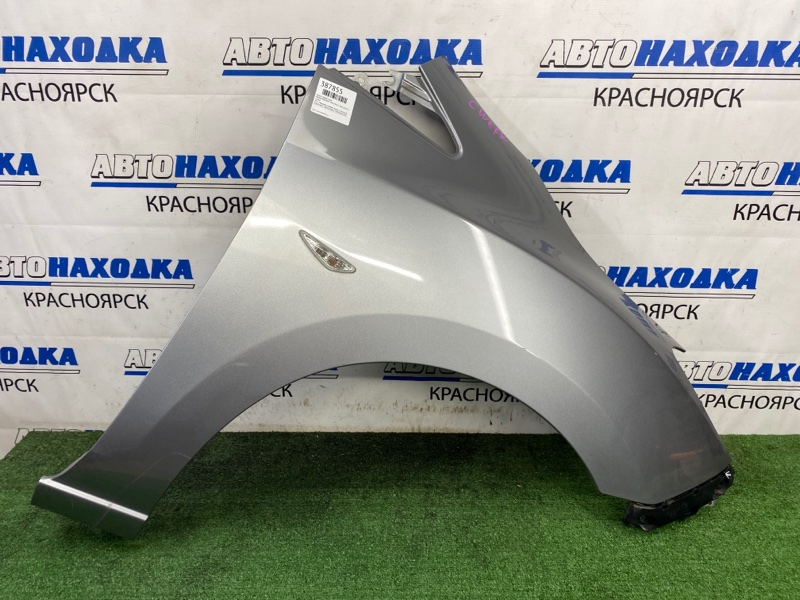 Крыло Mazda Premacy CWEFW LF-VDS 2010 переднее правое ХТС, переднее правое, серое, с клипсой