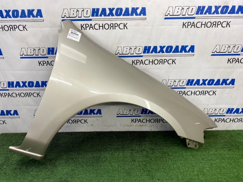 Крыло Mazda Familia BHA3P B3-ME 1996 переднее правое Переднее правое, серое, рестайлинг (2 модель),