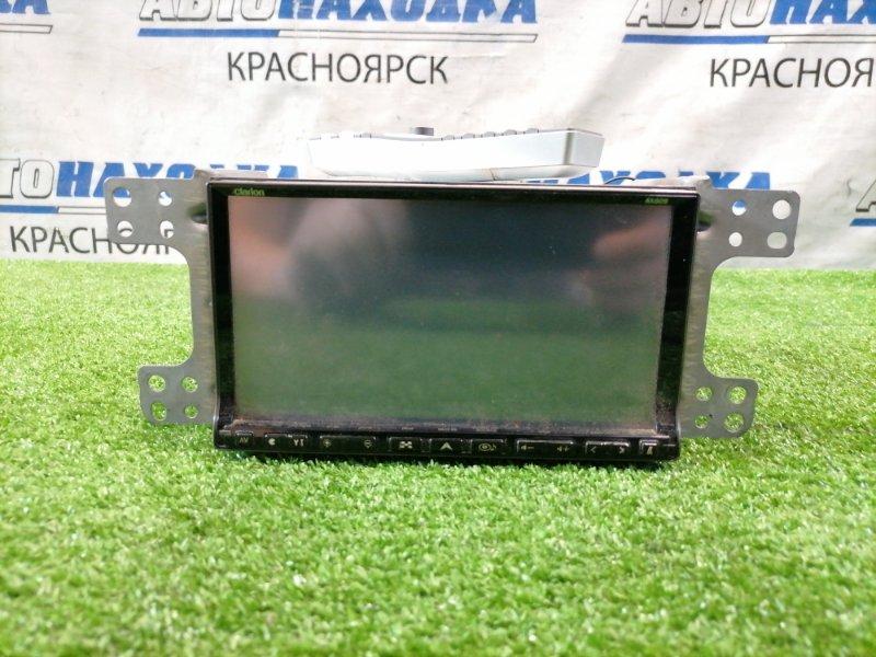 Магнитола Suzuki Splash XB32S K12B 2008 NX809 Clarion NX809 AM/FM,CD(MP3)/ DVD(PAL/NTSC), HDD, SD-AUDIO, USB, BLUETOOTH, VTR. С