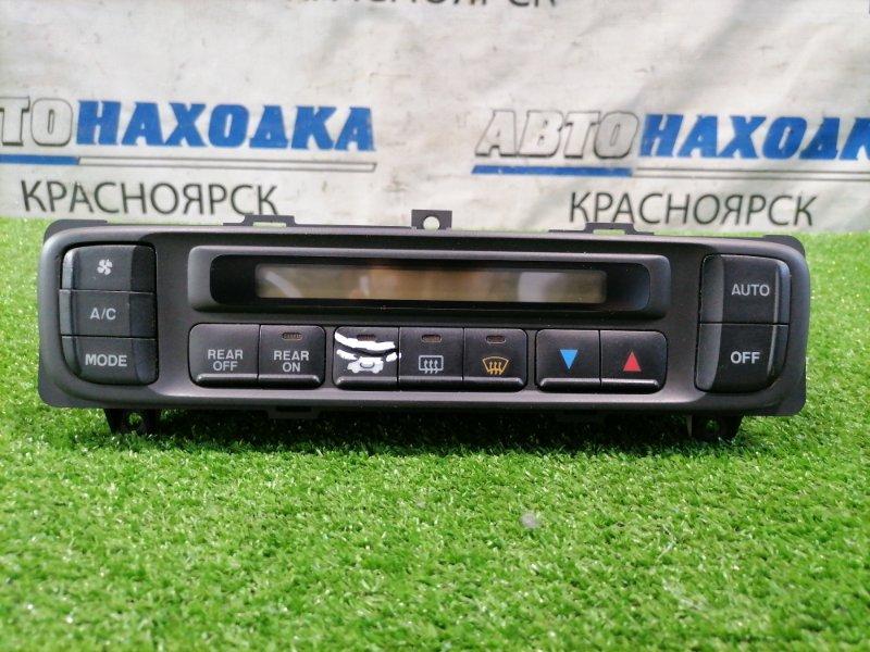 Климат-контроль Honda Odyssey RA6 F23A 1998 электронный, с Ж/К дисплеем, дефект 2-х кнопок.