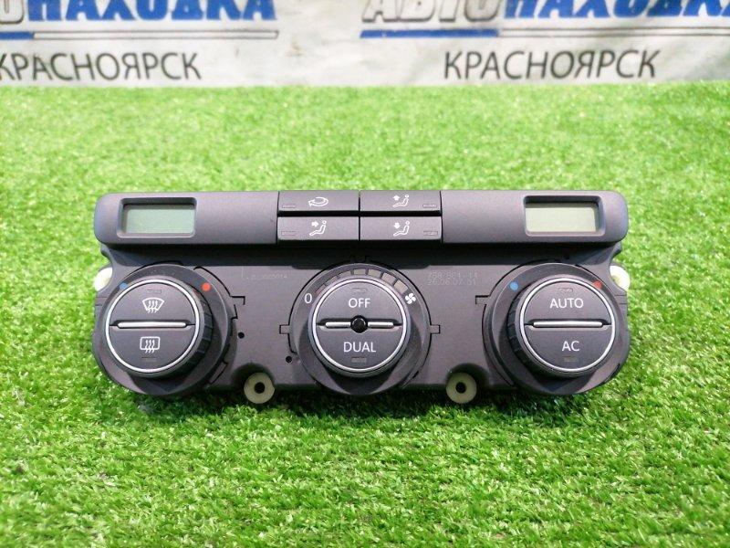 Климат-контроль Volkswagen Golf 1K1 BLF 2003 Электронный, с фишками