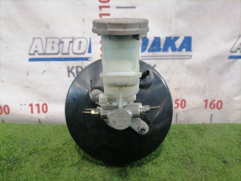 Главный тормозной цилиндр Suzuki Alto HA25V K6A 2009 65K53 С вакуумом и бачком. На 4 выхода.