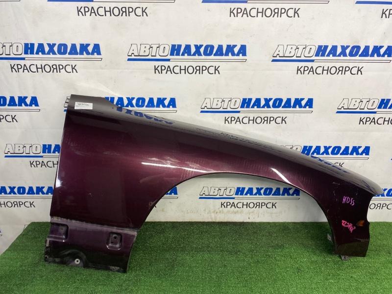 Крыло Mazda Efini Ms-9 HD5S J5-DE 1991 переднее правое Переднее правое, бордовое, есть потертости,
