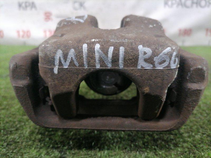 Суппорт Mini Countryman R60 N14B16 2010 задний левый Задний левый.
