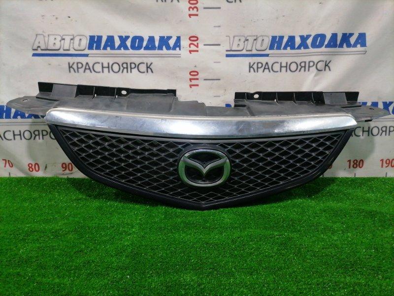 Решетка радиатора Mazda Mpv LW3W L3-DE передняя LD47 50 712 Рестайлинг с хром накладкой.