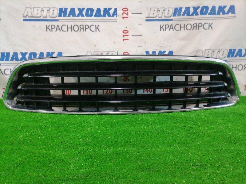 Решетка радиатора Mini Countryman R60 N14B16A 2010 передняя 224059-10 Черная с хром оконтовкой.
