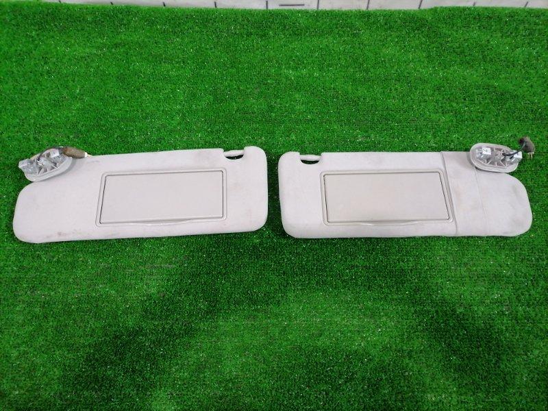 Козырек солнцезащитный Toyota Avensis AZT250 1AZ-FSE 2006 передний Пара, левый + правый, с