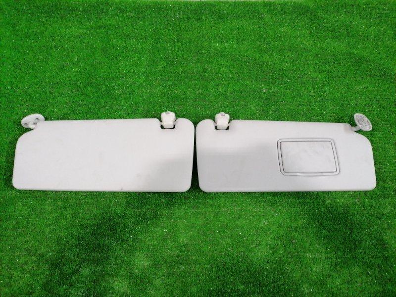 Козырек солнцезащитный Honda Fit GD1 L13A 2001 передний Пара, левый + правый, водительский с