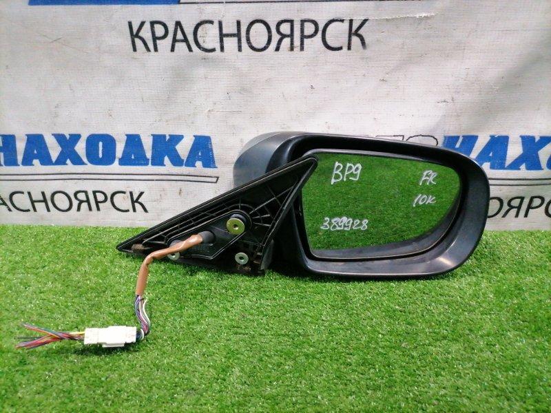 Зеркало Subaru Legacy BP5 EJ20 2003 переднее правое Правое, дорестайлинг (1 мод.), с повторителем, 10