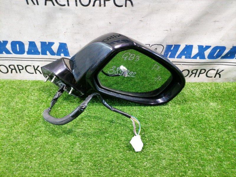 Зеркало Honda Freed GB3 L15A 2008 переднее правое Правое, с повторителем, 7 контактов. Есть