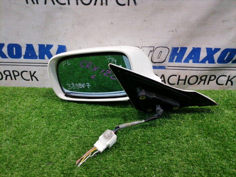 Зеркало Toyota Mark X GRX120 4GR-FSE 2004 переднее левое Левое, 7 контактов, есть потертости до