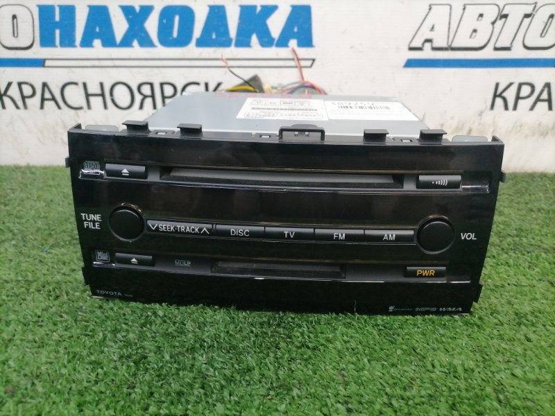 Магнитола Toyota Prius NHW20 1NZ-FXE 2005 штатная магнитола TOYOTA 50352, штатная, креплениями и